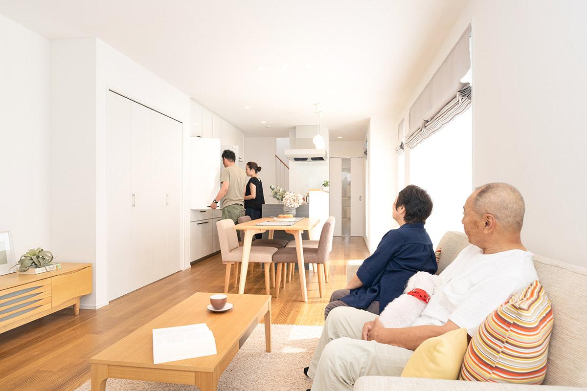 【大阪府守口市】二世帯住宅「L」の家